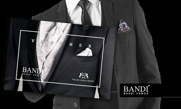 vyhraj oblek značky BANDI